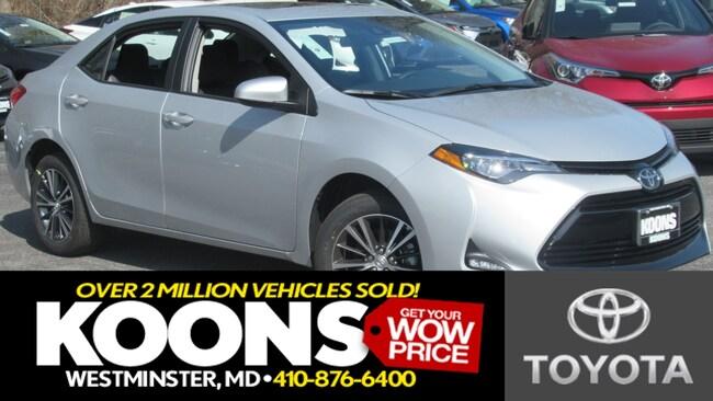 New 2019 Toyota Corolla LE Sedan Westminster
