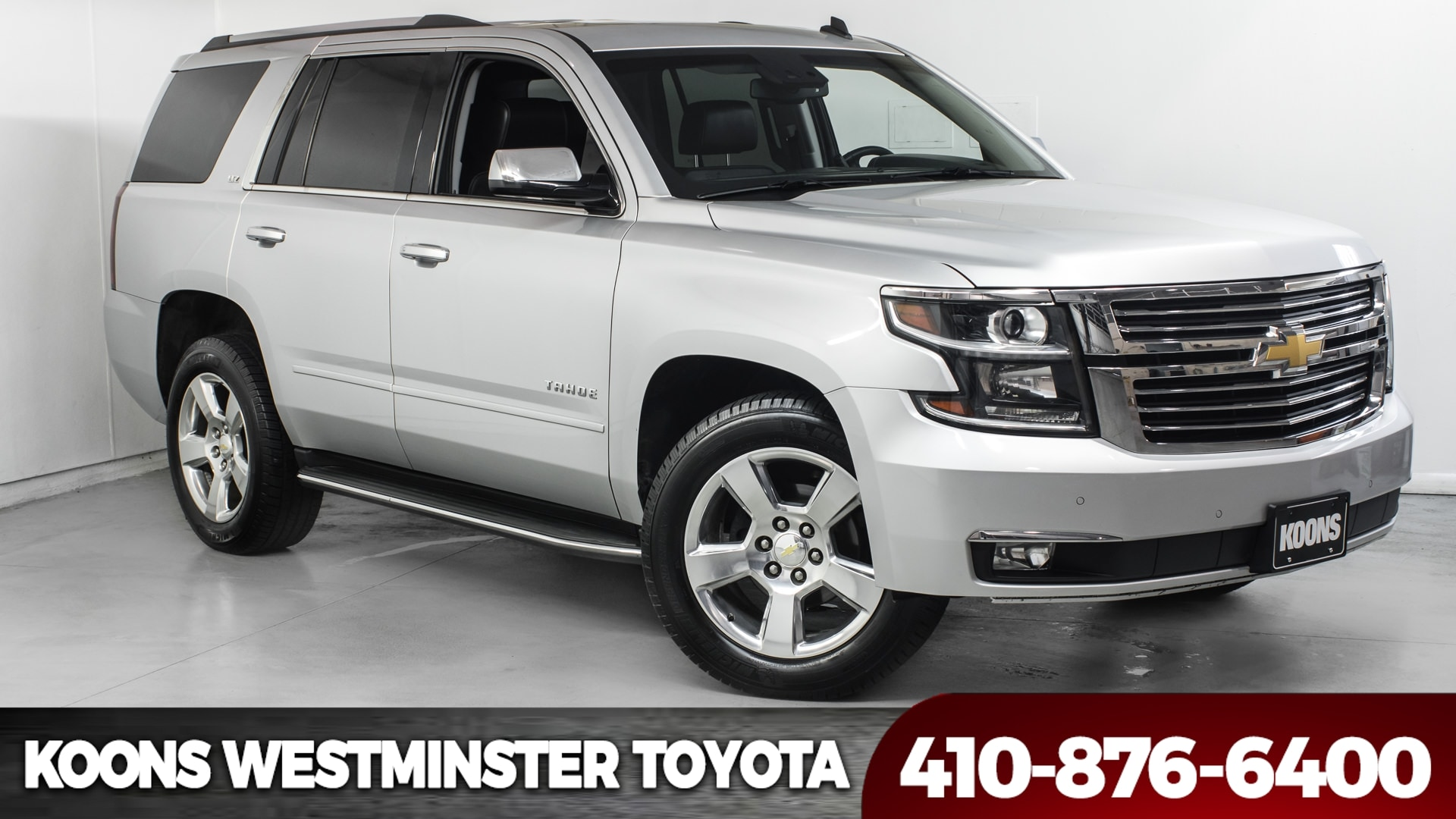 Used 2015 Chevrolet Tahoe LTZ 4WD For Sale in Westminster MD
