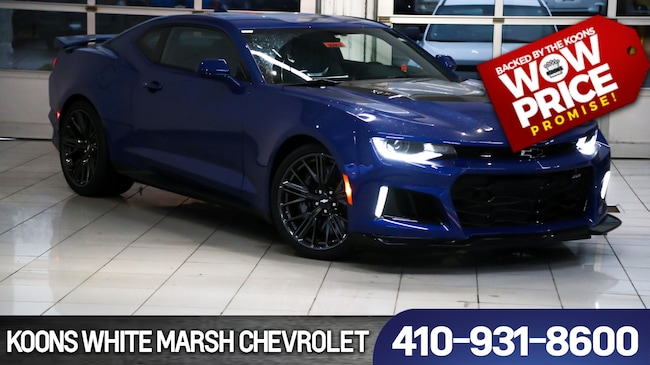 New 2019 Chevrolet Camaro ZL1 near Baltimore