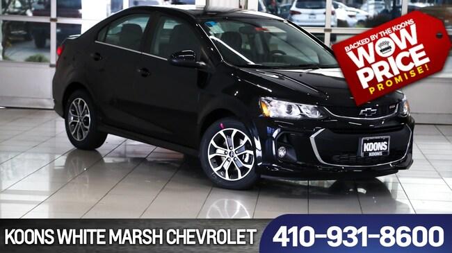 New 2019 Chevrolet Sonic LT Auto near Baltimore