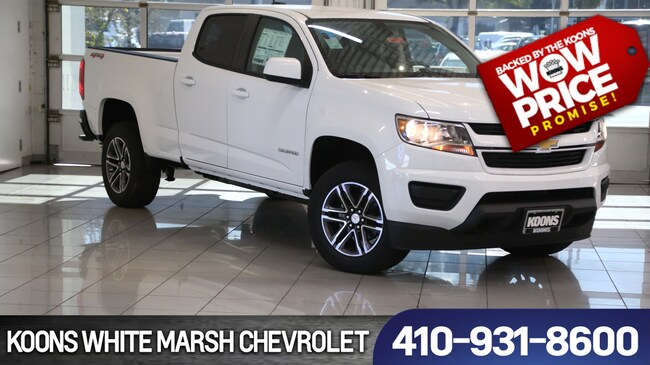 New 2019 Chevrolet Colorado WT near Baltimore