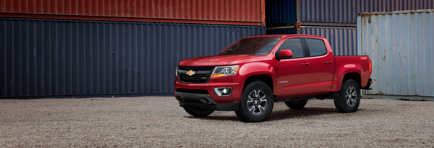 Perfect Notorious Rugged Reliability   The Chevrolet Colorado