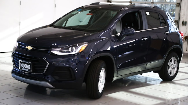 New 2019 Chevrolet Trax Lt For Sale In Baltimore Md Vin