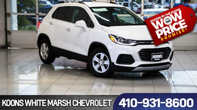 New 2018 Chevrolet Trax Lt For Sale In Baltimore Md Vin