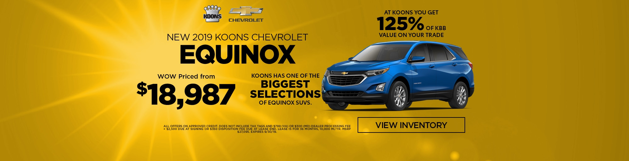 Koons Chevrolet White Marsh >> Koons White Marsh Chevrolet: Chevrolet Dealership In Baltimore County