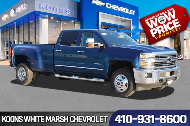 New 2019 Chevrolet Silverado 3500HD LTZ near Baltimore