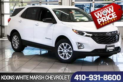 New 2019 Chevrolet Equinox LT w/1LT For Sale in Baltimore