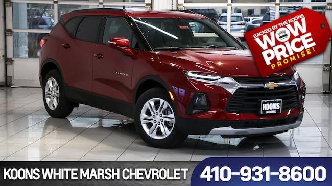 New 2019 Chevrolet Blazer Base W3lt For Sale In Baltimore Md Vin