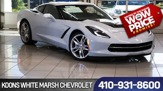New 2019 Chevrolet Corvette Stingray near Baltimore
