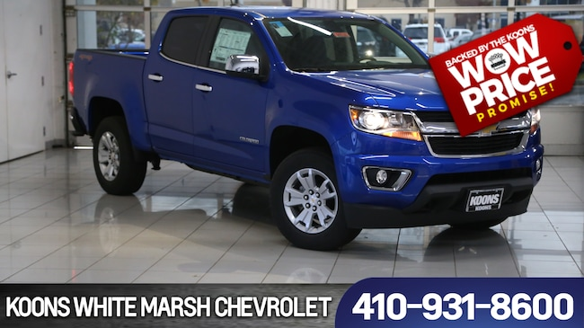 New 2019 Chevrolet Colorado Lt For Sale In Baltimore Md Vin
