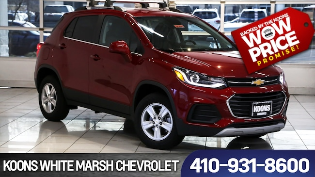 New 2019 Chevrolet Trax LT near Baltimore