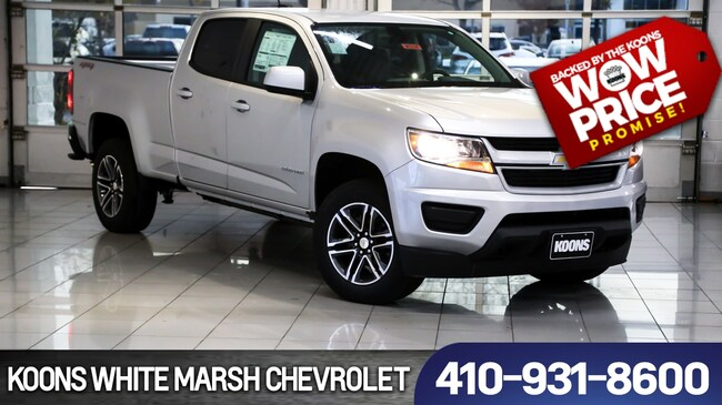 New 2019 Chevrolet Colorado WT near Baltimore