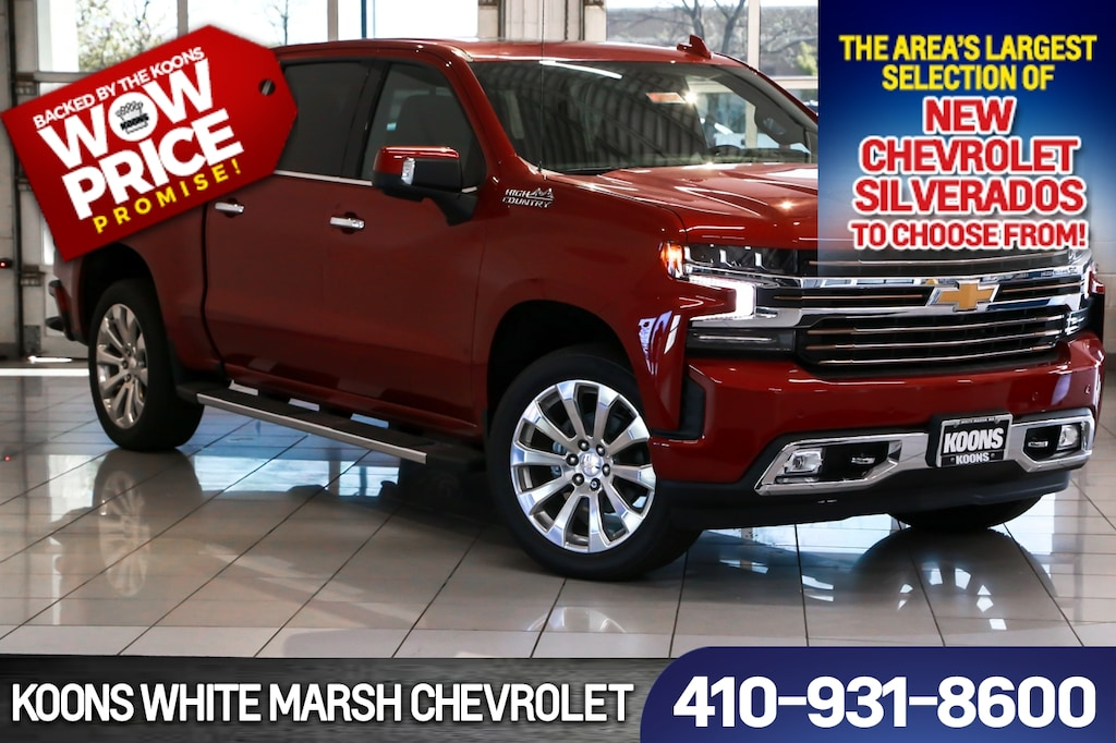 New 2019 Chevrolet Silverado 1500 High Country For Sale In