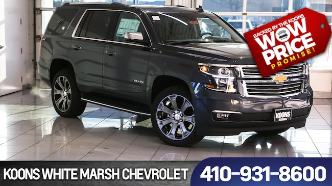 New 2019 Chevrolet Tahoe Premier For Sale In Baltimore Md Vin