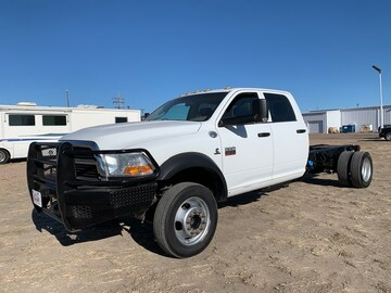 2011 Ram 5500 HD Chassis Truck