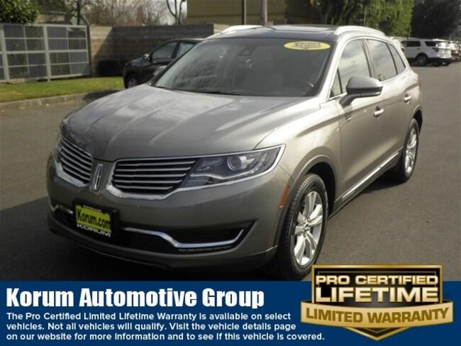 2017 Lincoln MKX Select SUV