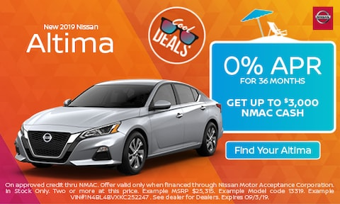 August 2019 Altima Special