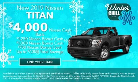 January 2019 Nissan Titan Offer