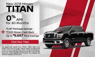 New 2018 Nissan Titan