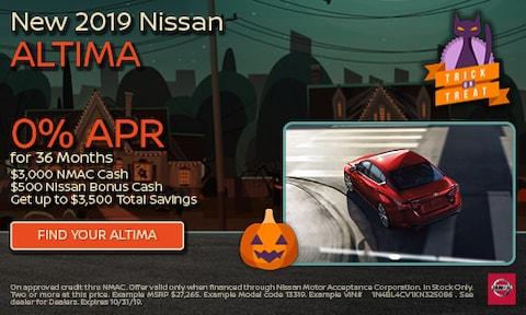 October 2019 Altima Special