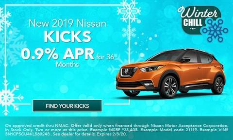 January 2019 Nissan Kicks Offer