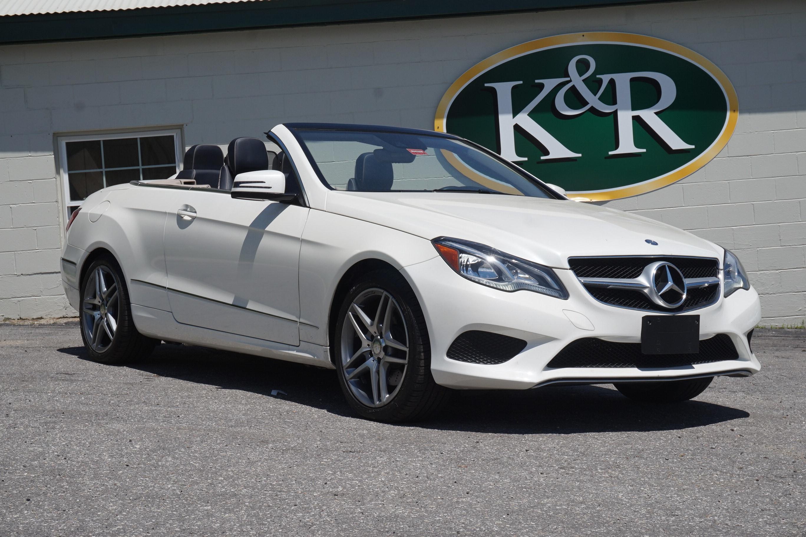 Attractive ... Used 2015 Mercedes Benz E Class E 400 Cabriolet For Sale Auburn, ME ...