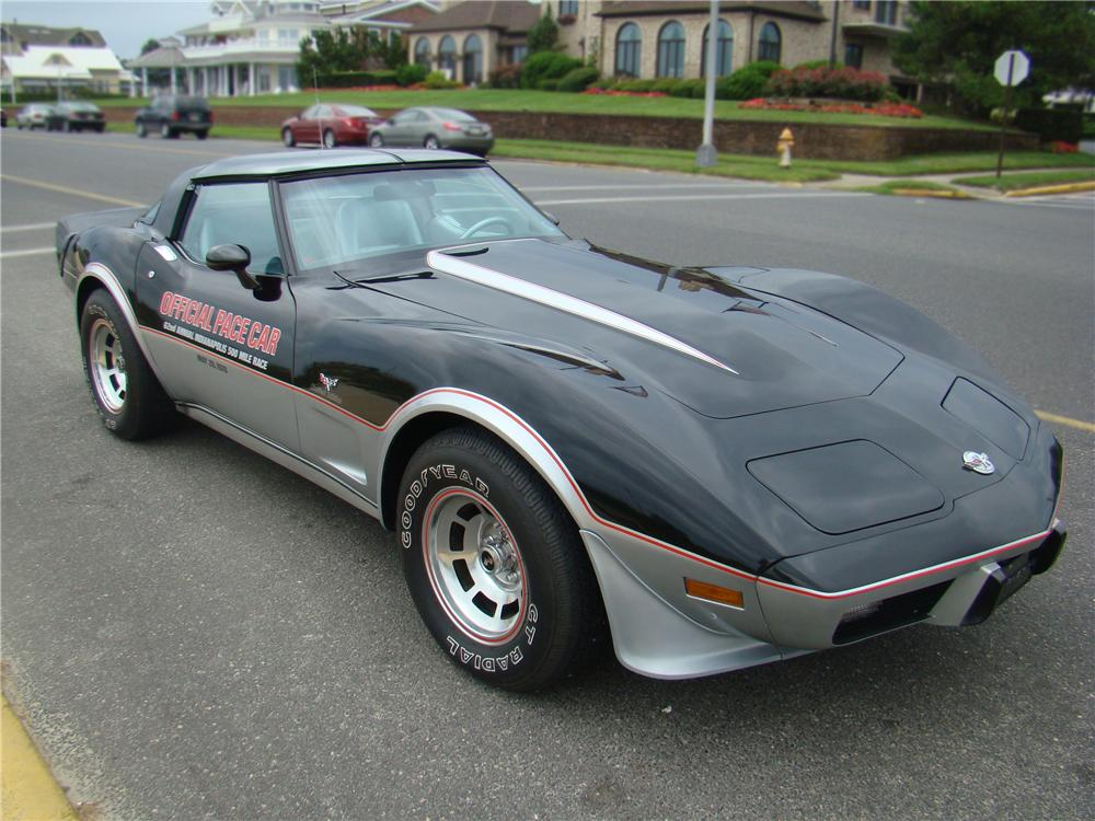 1978 Chevrolet Corvette PACE CAR Coupe