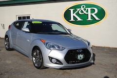 2013 Hyundai Veloster Turbo w/Blue Hatchback in Auburn, ME