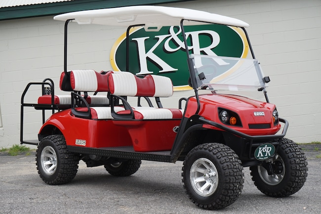 Used 2016 EZGO GOLF CART/PEOPLE CARRIER 6 passenger Compact For Sale Auburn, ME
