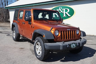 Pre-owned 2010 Jeep Wrangler Unlimited Sport SUV in Auburn, ME