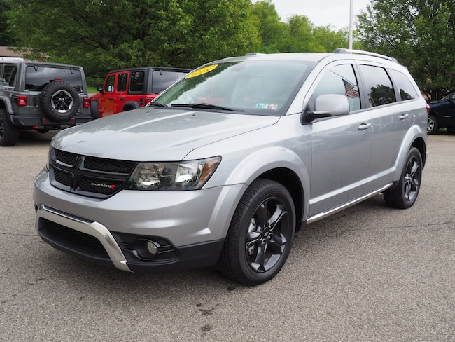 Certified Pre-Owned 2018 Dodge Journey Crossroad SUV Pittsburgh