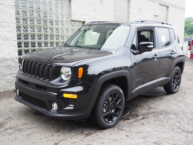 New 2019 Jeep Renegade ALTITUDE 4X4 Sport Utility in Gibsonia near Pittsburgh