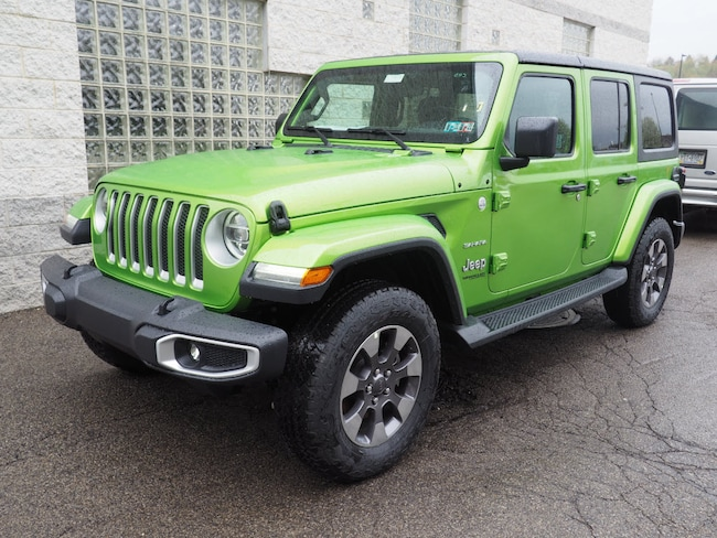New 2019 Jeep Wrangler UNLIMITED SAHARA 4X4 Sport Utility in Gibsonia near Pittsburgh