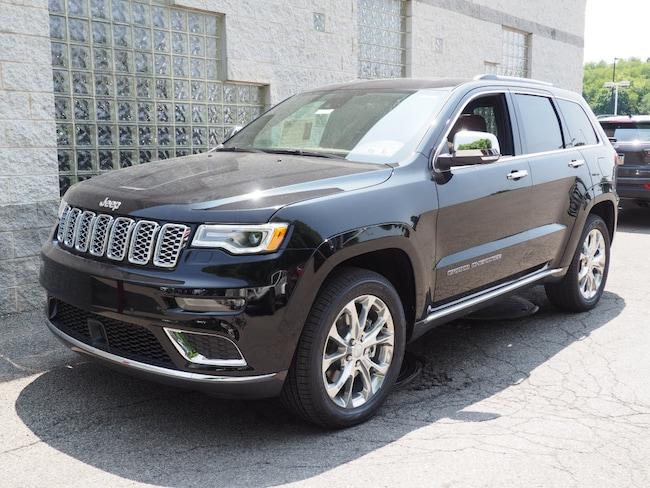 New 2019 Jeep Grand Cherokee SUMMIT 4X4 Sport Utility in Gibsonia near Pittsburgh