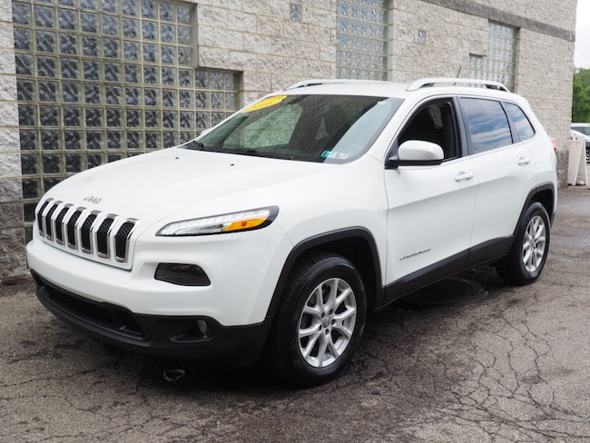 Certified Pre-Owned 2016 Jeep Cherokee Latitude 4x4 SUV Pittsburgh