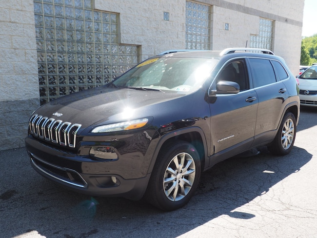 Certified Pre-Owned 2018 Jeep Cherokee Limited 4x4 SUV Pittsburgh