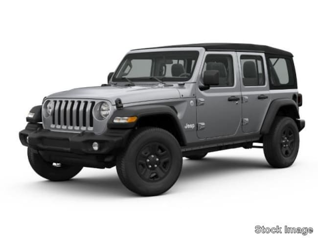 New 2019 Jeep Wrangler UNLIMITED SPORT 4X4 Sport Utility in Gibsonia near Pittsburgh
