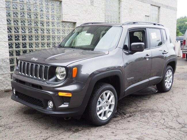 New 2019 Jeep Renegade LATITUDE 4X4 Sport Utility in Gibsonia near Pittsburgh