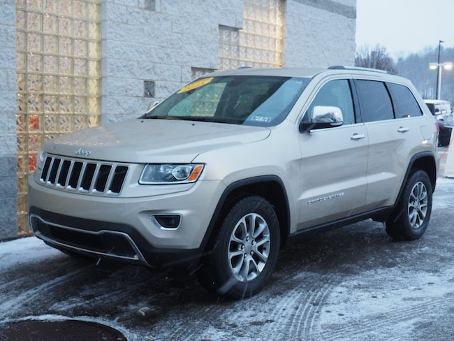 Certified Pre-Owned 2015 Jeep Grand Cherokee Limited 4x4 SUV Pittsburgh