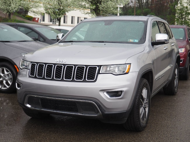 Certified Pre-Owned 2017 Jeep Grand Cherokee Limited 4x4 SUV Pittsburgh