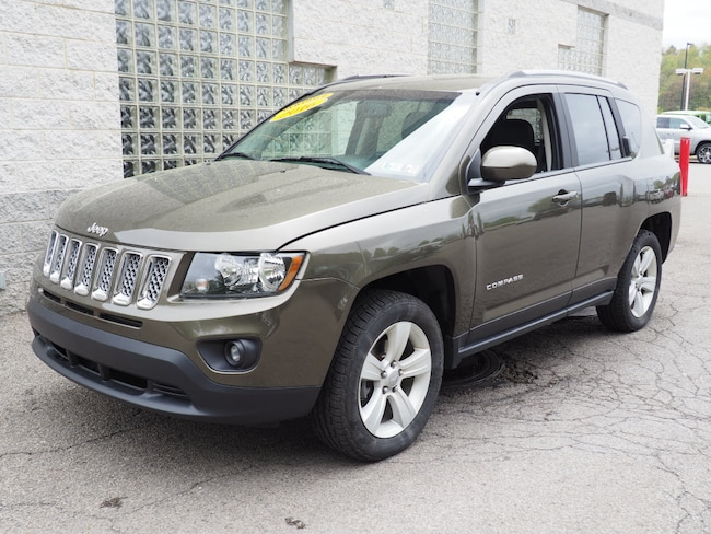 Certified Pre-Owned 2016 Jeep Compass Latitude 4x4 SUV Pittsburgh