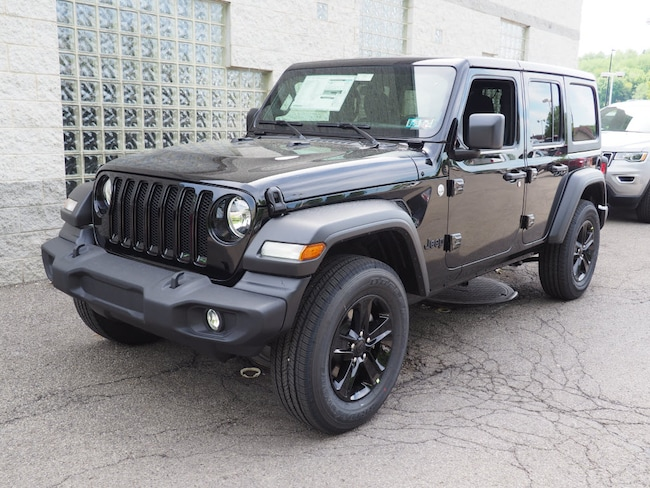 New 2019 Jeep Wrangler UNLIMITED SPORT ALTITUDE 4X4 Sport Utility in Gibsonia near Pittsburgh