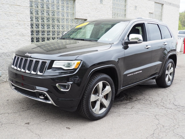 Certified Pre-Owned 2016 Jeep Grand Cherokee Overland 4x4 SUV Pittsburgh