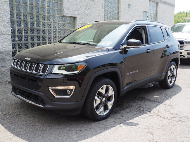 Certified Pre-Owned 2018 Jeep Compass Limited 4x4 SUV Pittsburgh
