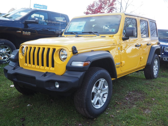 New 2018 Jeep Wrangler UNLIMITED SPORT S 4X4 Sport Utility in Gibsonia near Pittsburgh