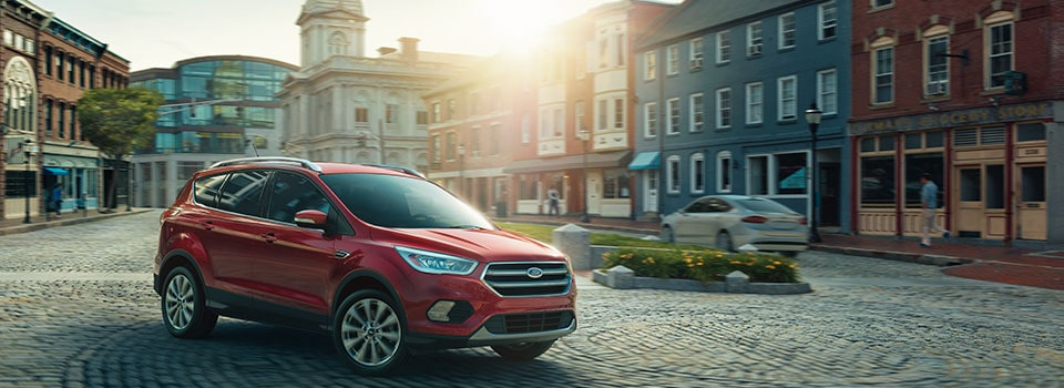 2019 Ford Escape driving in town
