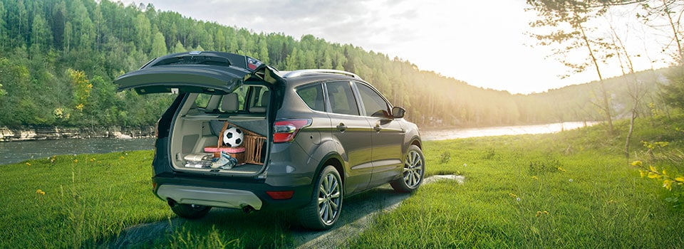 2019 Ford Escape parked by a lake