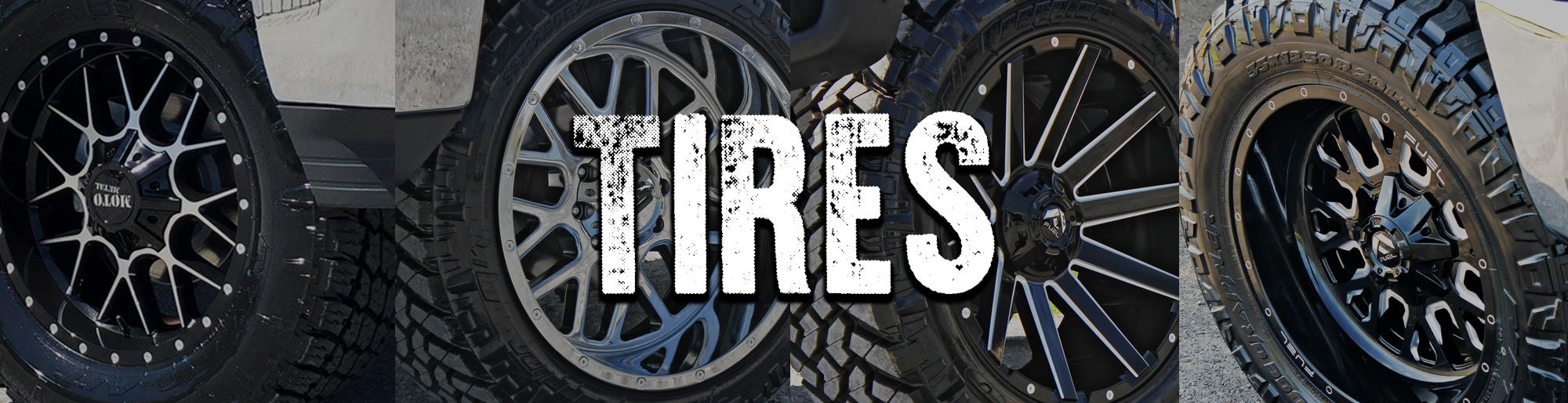 Outfit your car with the perfect set of name brand tires at krietz auto sales