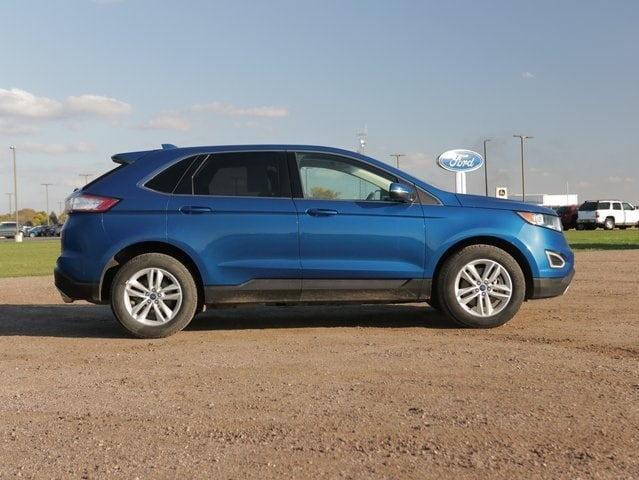 Used 2018 Ford Edge SEL with VIN 2FMPK4J88JBB05370 for sale in Marshall, Minnesota