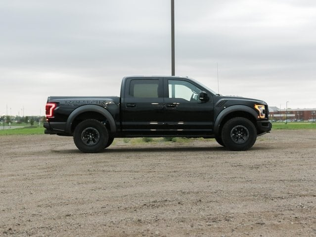 Used 2018 Ford F-150 Raptor with VIN 1FTFW1RG1JFC45354 for sale in Marshall, Minnesota
